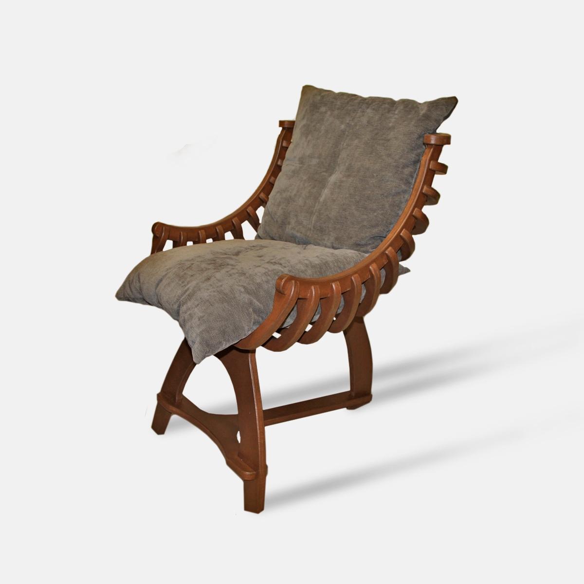 Деревянное кресло «релакс»