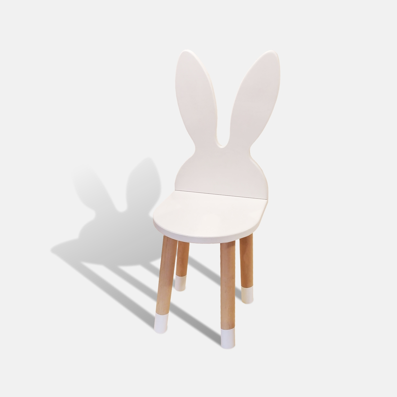 Детский стул с ушами зайца
